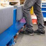 Knieschutz-Polster für dieIndustrie